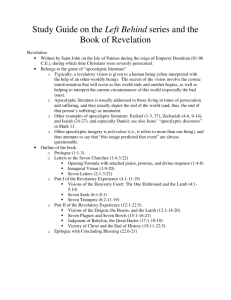 Study Guide on the Left Behind series and the Book of Revelation