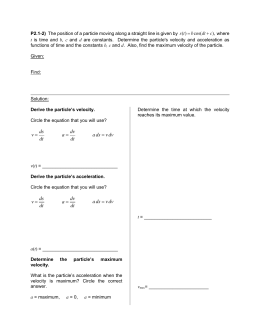 P2.1-2 Worksheet - Conceptual Dynamics