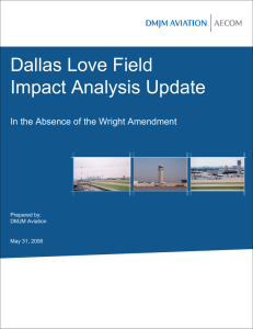 Dallas Love Field Impact Analysis Update