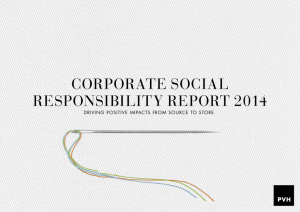 Full 2014 Report  - Corporate Social Responsibility