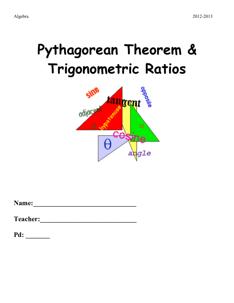 Worksheet Pythagorean Theorem 2 digit subtraction with and without – Pythagorean Theorem Worksheet Doc