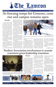 As freezing temps hit Geneseo, costs rise and campus remains open