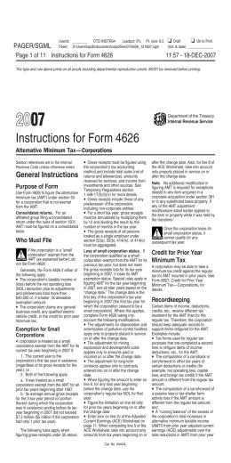 Amti Alternative Minimum Tax 2014