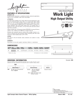 Work Light - ATG Stores