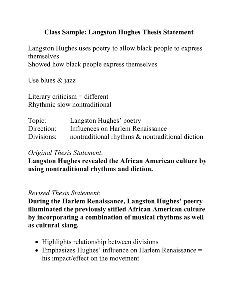 the portrayal of the attitudes of african american people in the mid 1900s in langston hughes poem a