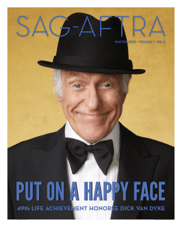49th LIFE ACHIEVEMENT HONOREE DICK VAN DYKE - sag