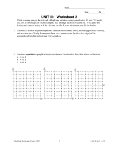 UNIT III: Worksheet 2
