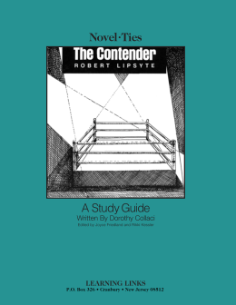 Novel•Ties A Study Guide - BMI Educational Services