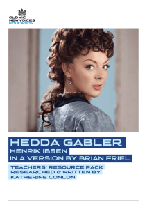Hedda Gabler Teaching Resources