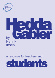 Hedda Ed pack outer pdf - Royal Exchange Theatre
