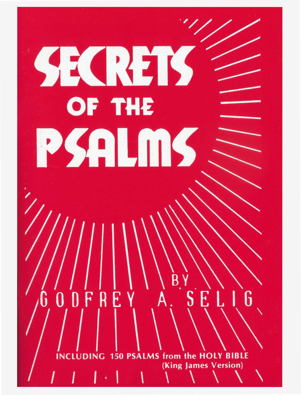 Secrets of the Psalms - you are not what you think