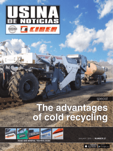 The advantages of cold recycling
