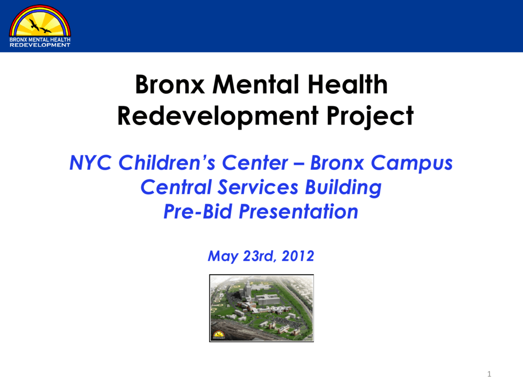 Bronx Mental Health Redevelopment Project