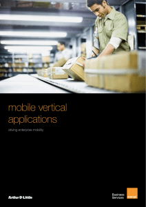 mobile vertical applications