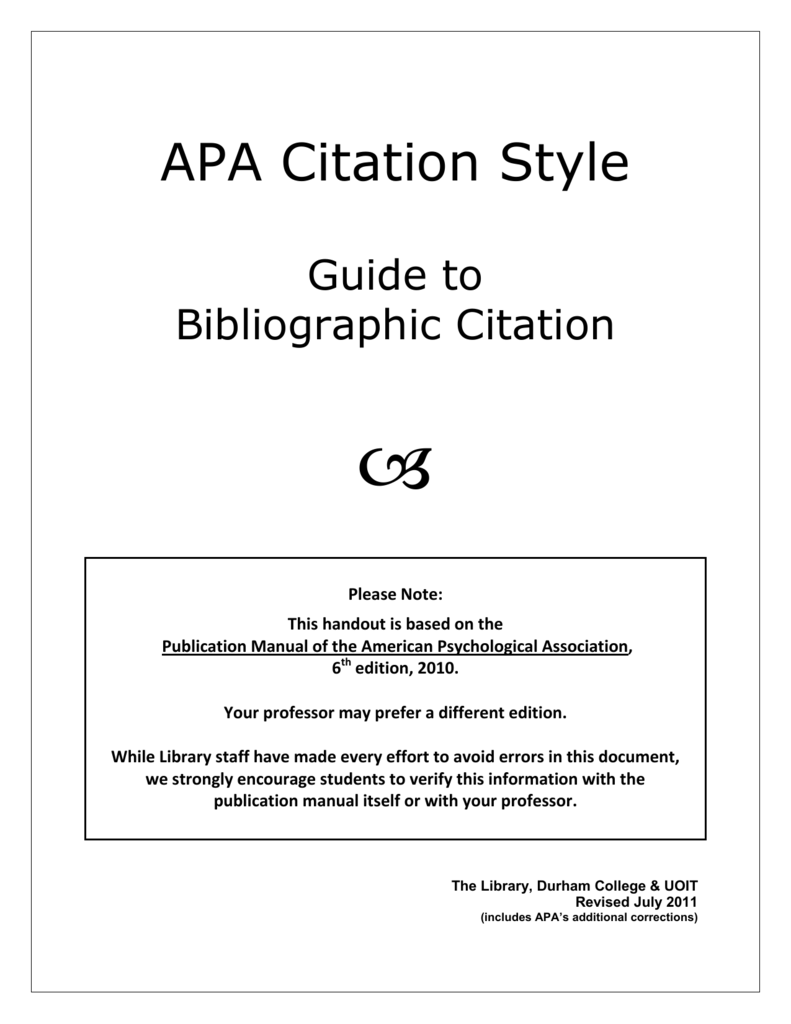 Examples Of Intext Citations Explanation & Example Apa: Article