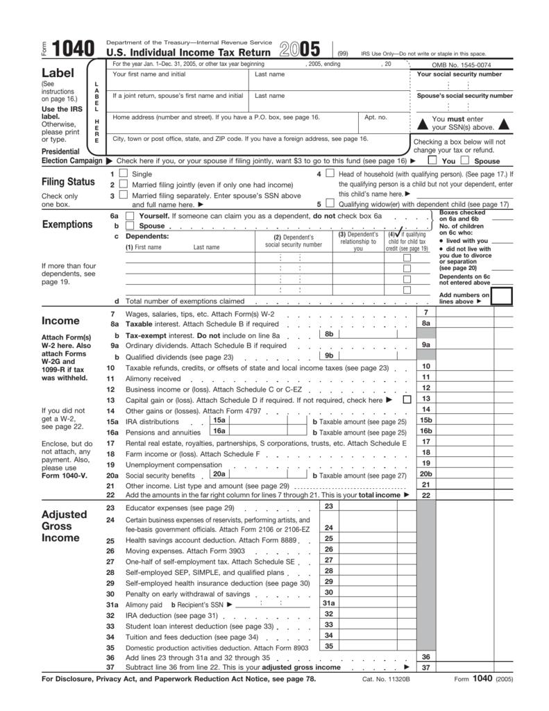 form 1040 box 1  12 Form 12 - Tax History Project