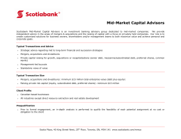 Mid-Market Capital Advisors