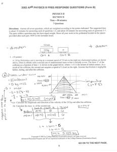 2002 ap physics b free response form b