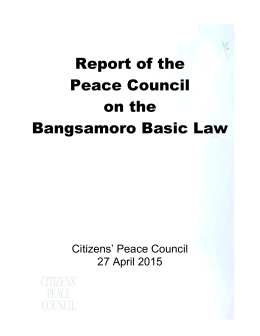 the report here - Office of the Presidential Adviser on the