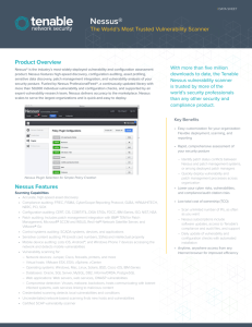 Nessus - VMware Solution Exchange