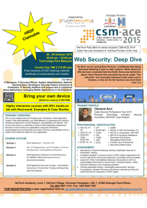 Web Security: Deep Dive