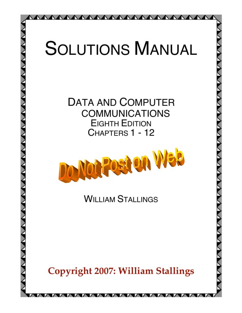 Solutions Manual E