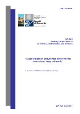 """A generalization of Hukuhara difference for interval and fuzzy"