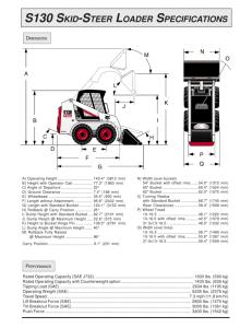 Operation & Maintenance Manual S185 Skid
