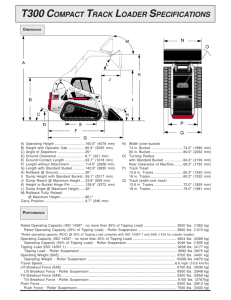 s250 skid-steer loader specifications