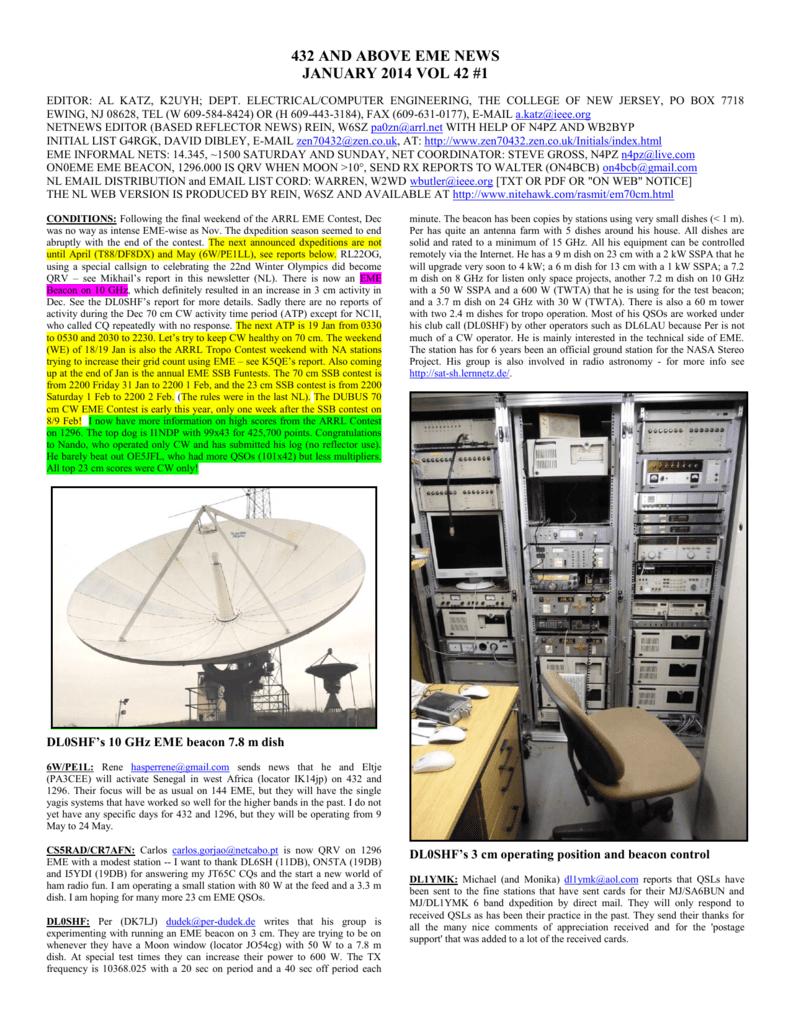 432 and above eme news january 2014 vol 42 #1