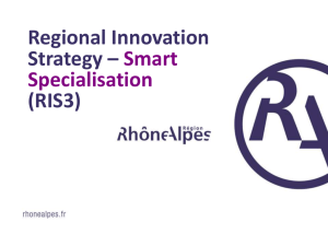 Région Rhône-Alpes - Your Innovation Day