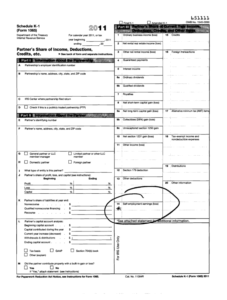 form 1040 k-1  Schedule K-9