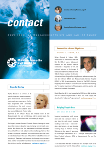 contact - Massachusetts Eye and Ear