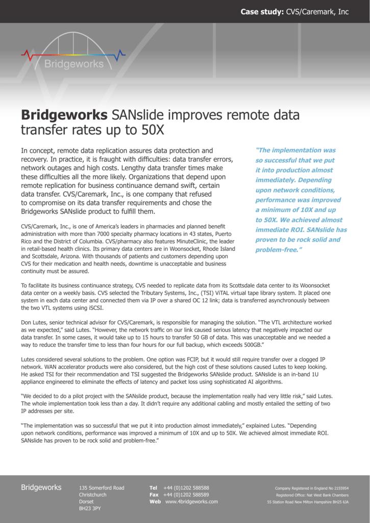 CVS Case Study in PDF