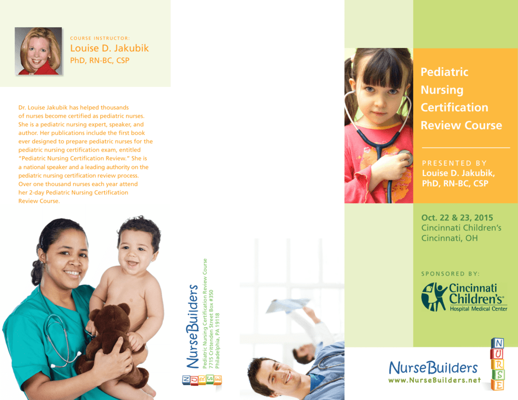 Pediatric Nursing Certification Review Course