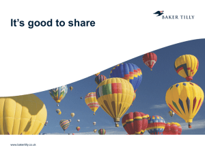 It's Good to Share – Matt Humphrey, Baker Tilly