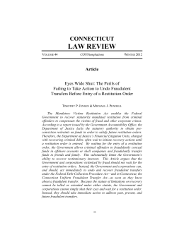 View PDF - Connecticut Law Review