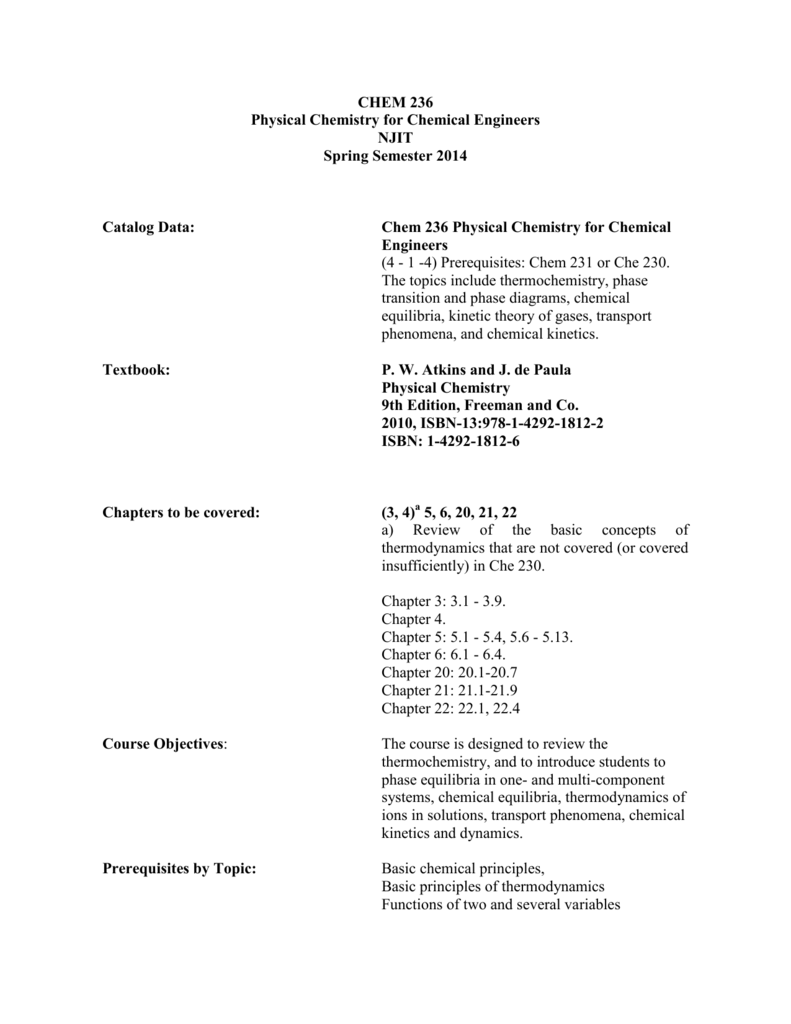 physical chemistry atkins 7 edition