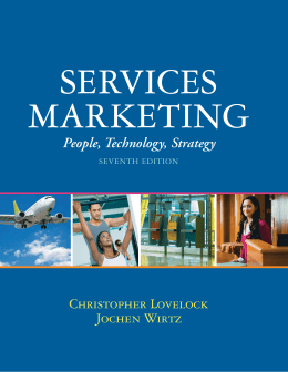 SERVICES MARKETING - NUS Business School
