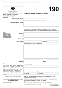 PDF example of 190 Location of register of debenture holders