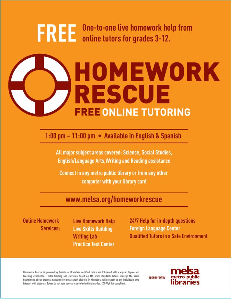 Online live homework help