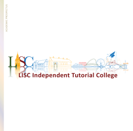 LISC Independent Tutorial College