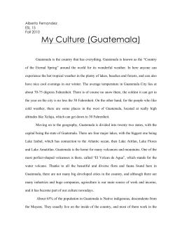 Guatemalan coup essay