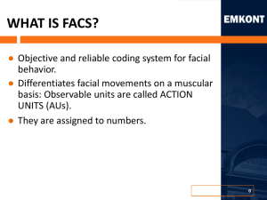WHAT IS FACS?