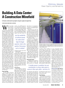 Building A Data Center