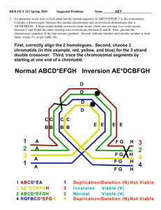 1 2 3 1 3 2 4 4 Normal ABCD*EFGH Inversion AE*DCBFGH