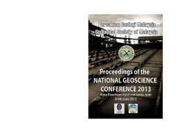 Proceedings - Publications of the Geological Society of