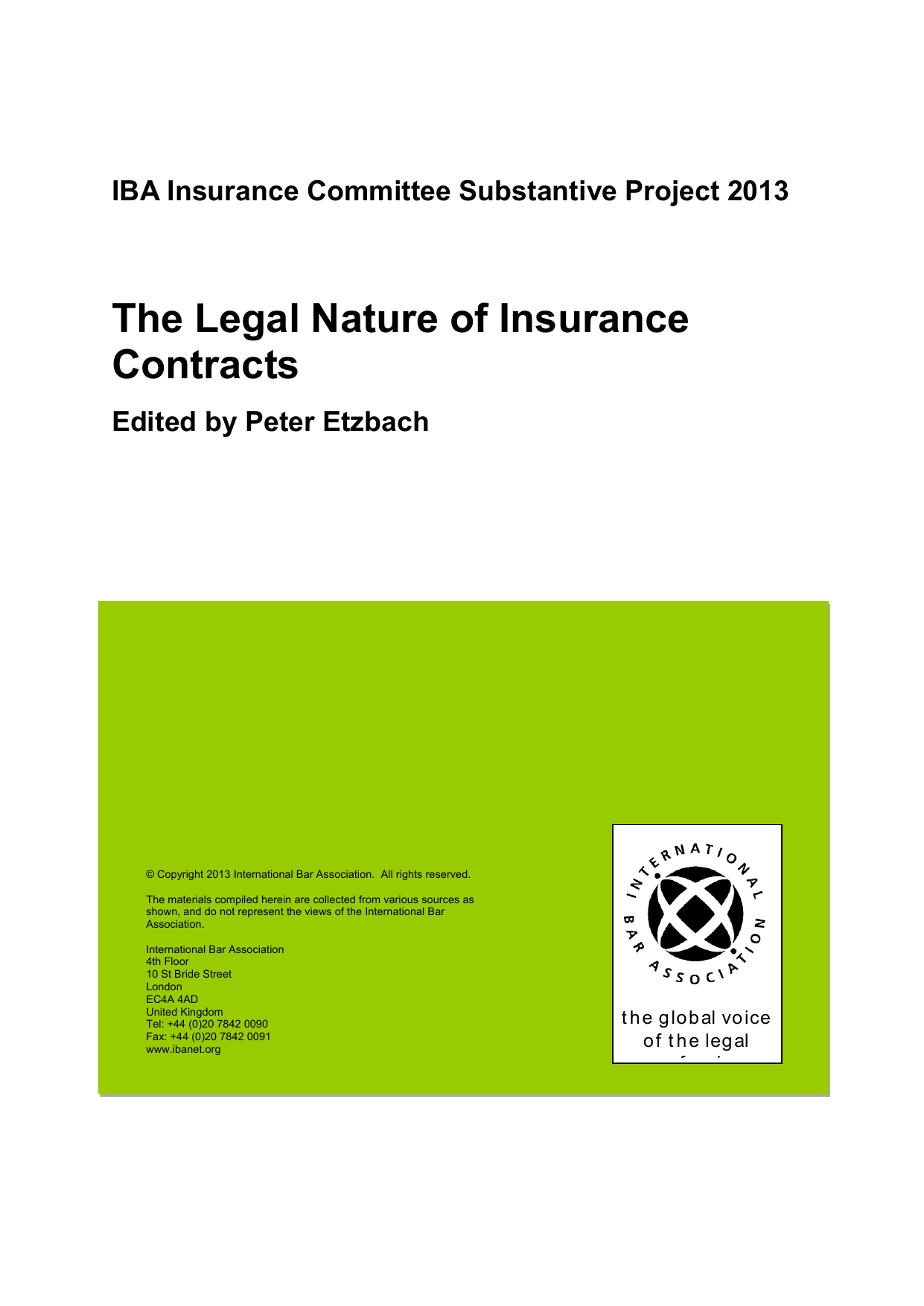 Payer Contravention Montréal >> The Legal Nature Of Insurance Contracts