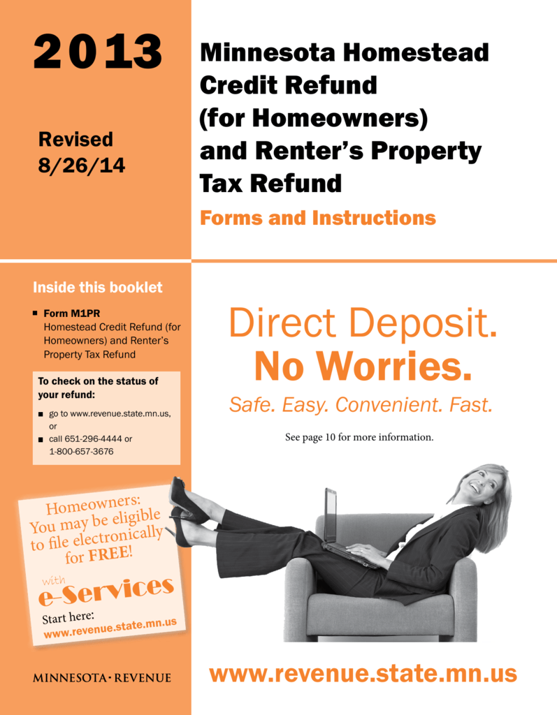 2011 property tax refund return (m1pr) instructions.