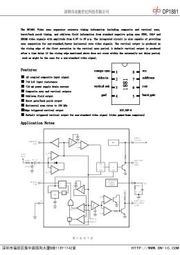 Lm1881 Lm1881 X Video Sync Separator